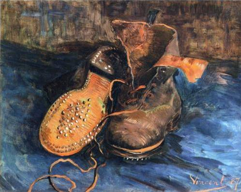A Pair of Shoes - Vincent Van Gogh