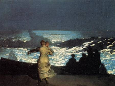 A Summer Night - Winslow Homer