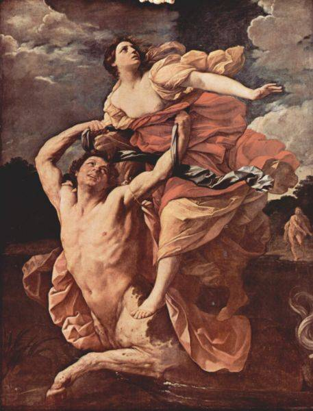 Abduction of Deianira - Guido Reni