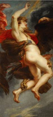 Abduction of Ganymede - Peter Paul Rubens
