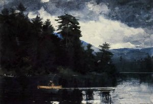 Adirondack Lake - Winslow Homer
