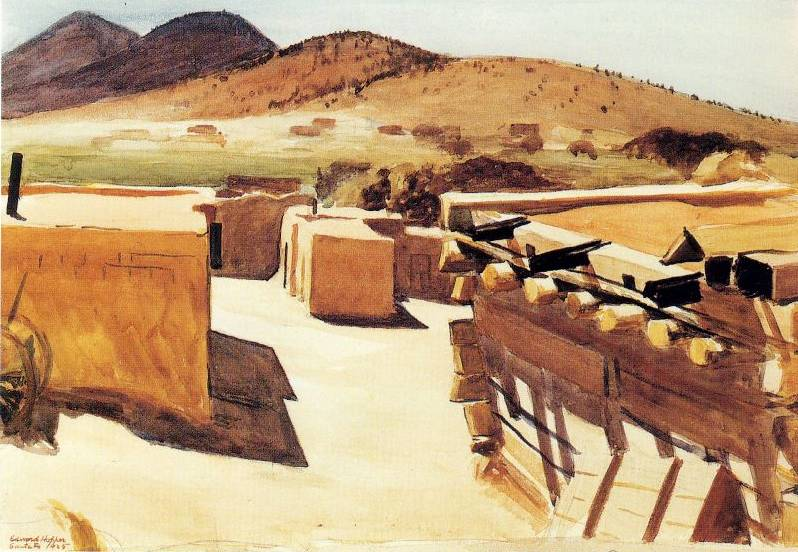 Adobe Houses - Edward Hopper