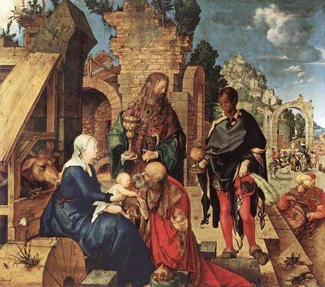 Adoration of the Magi - Albrecht Durer