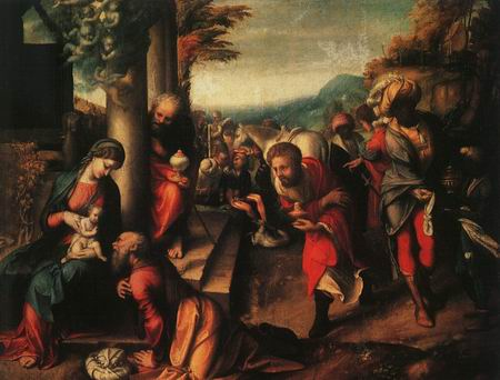 Adoration of the Magi - Correggio