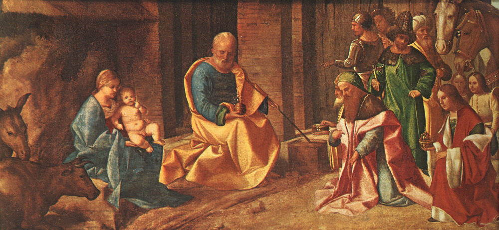 Adoration of the Magi - Giorgione (Giorgio Barbarelli da Castelfranco)