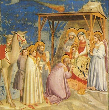 Adoration of the Magi - Giotto di Bondone