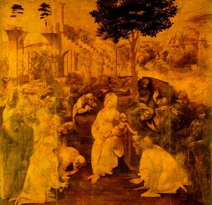 Adoration of the Magi - Leonardo da Vinci