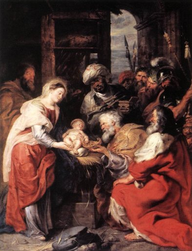 Adoration of the Magi - Peter Paul Rubens