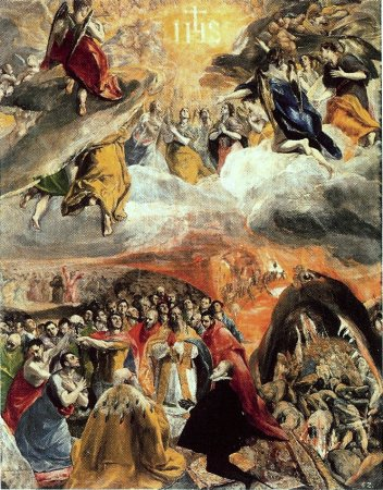Adoration of the Name of Jesus - El Greco