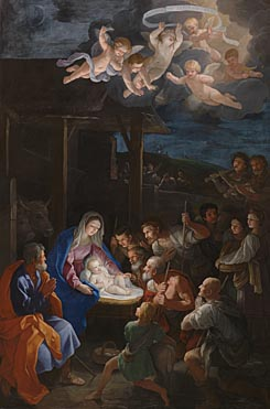 Adoration of the Shepherds - Guido Reni
