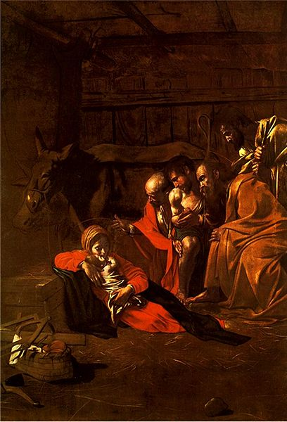 Adoration of the Shepherds - Caravaggio