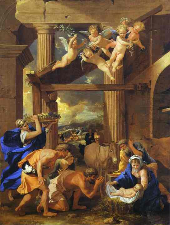 Adoration of the Shepherds - Nicolas Poussin