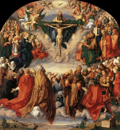 Adoration of the Trinity - Albrecht Durer
