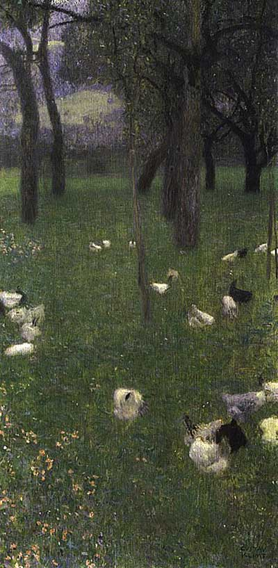 After the Rain - Gustav Klimt