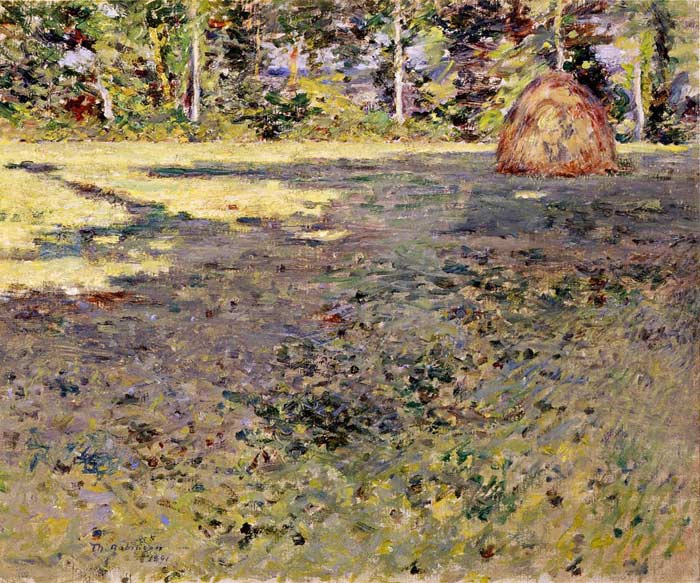 Afternoon Shadows - Theodore Robinson