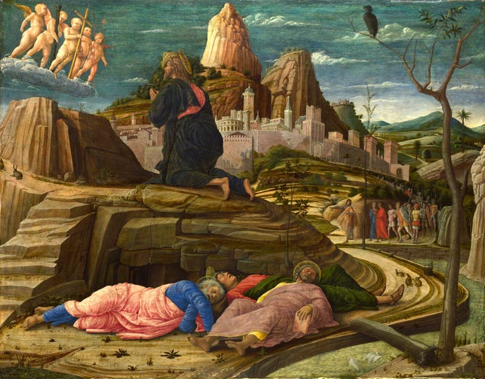 Agony in the Garden - Andrea Mantegna