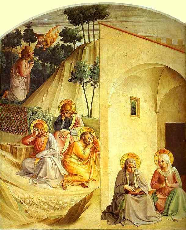 Agony in the Garden - Fra Angelico