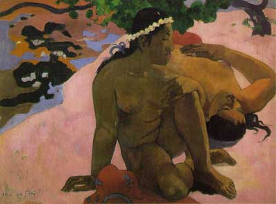 Are you Jealous? (Aha oe feii?) - Paul Gauguin