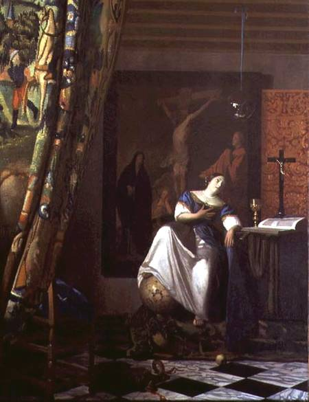 Allegory of Faith - Jan Vermeer van Delft