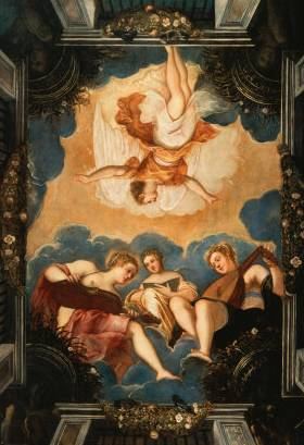 Allegory of Music - Jacopo Robusti Comin Tintoretto