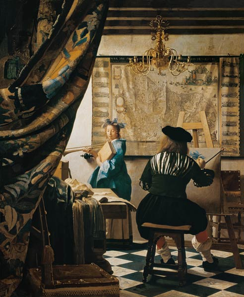 Allegory of Painting - Jan Vermeer van Delft