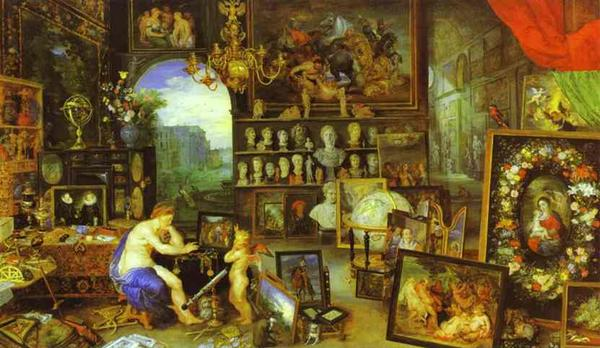 Allegory of Sight with Jan Brueghel - Peter Paul Rubens