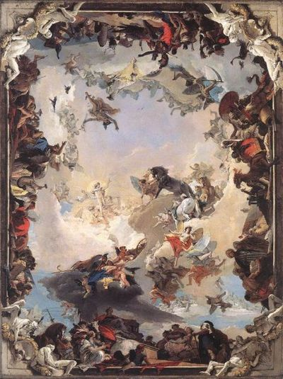 Allegory of the Planets and Continents - Giovanni Tiepolo