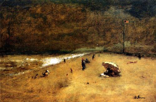 Along the Jersey Shore - George Inness