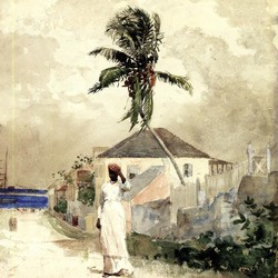 Along the Road, Bahamas - Winslow Homer