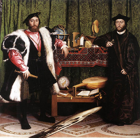The Ambassadors - Hans Holbein