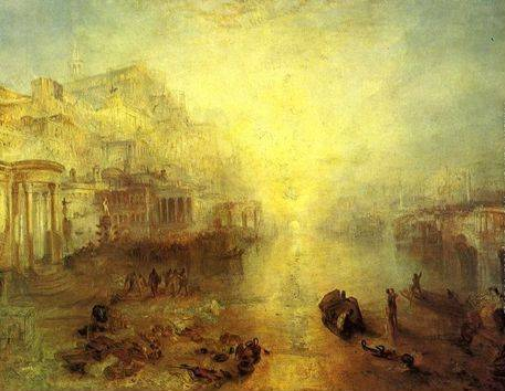 Ancient Italy Ovid Banished from Rome - Joseph Mallord William Turner