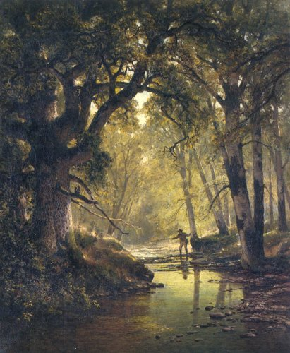 Forest Scene Gallery Oil Painting Reproductions and Prints