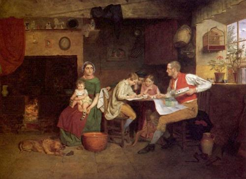 Answering the Emigrant's Letter - James Collinson