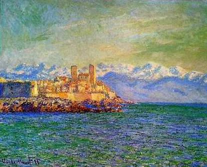 Antibes Afternoon Effect - Claude Monet