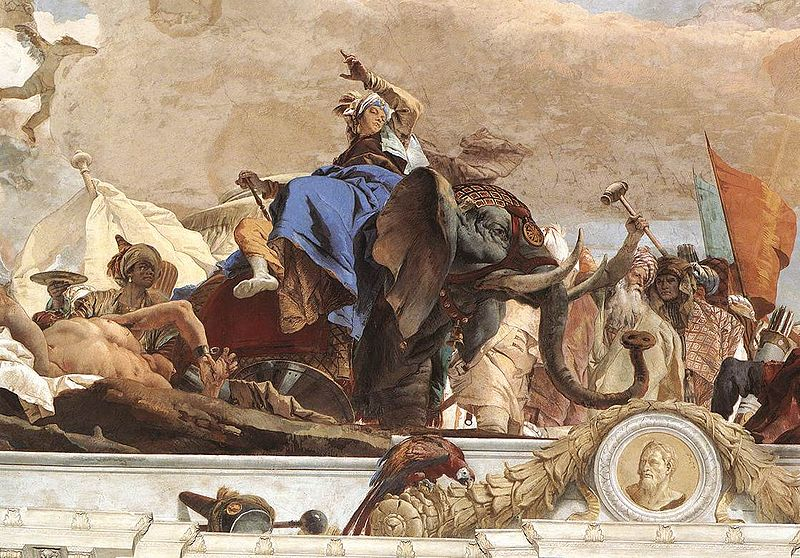 Apollo and the Continents - Giovanni Tiepolo