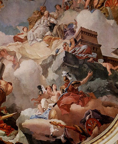 Apotheosis of Spain - Giovanni Tiepolo