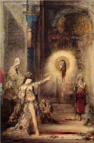 The Apparition - Gustave Moreau
