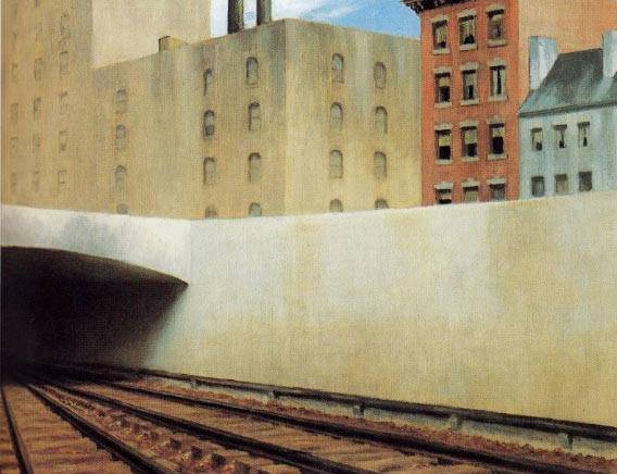 Approaching the City - Edward Hopper
