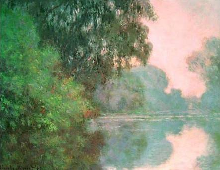 Arm of the Seine near Giverny - Claude Monet
