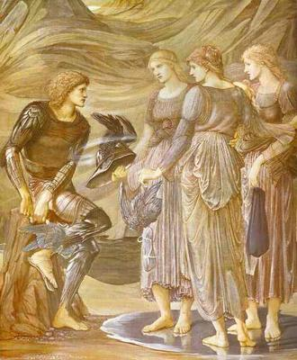 Arming of Perseus - Edward Coley Burne Jones