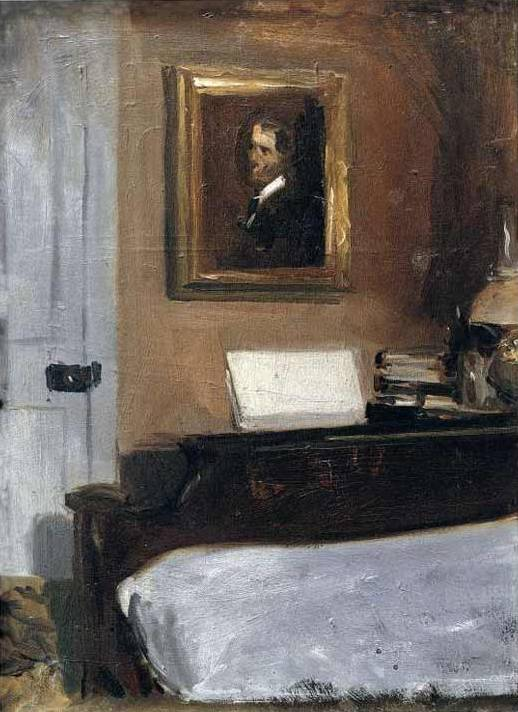 Artist's Bedroom, Nyack - Edward Hopper
