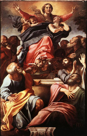 Assumption of the Virgin - Annibale Carracci