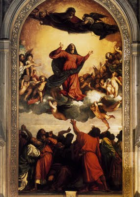 Assumption of the Virgin - Tiziano Titian Vecellio