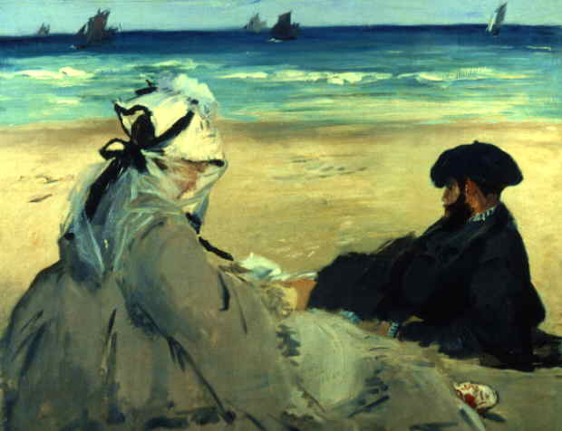 At the Beach - Edouard Manet