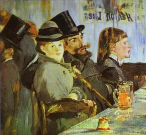 At the Cafe - Edouard Manet