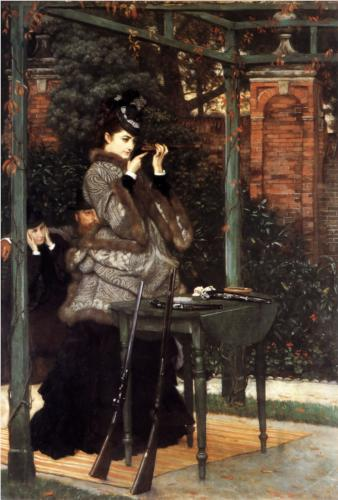 At the Rifle Range - James Tissot