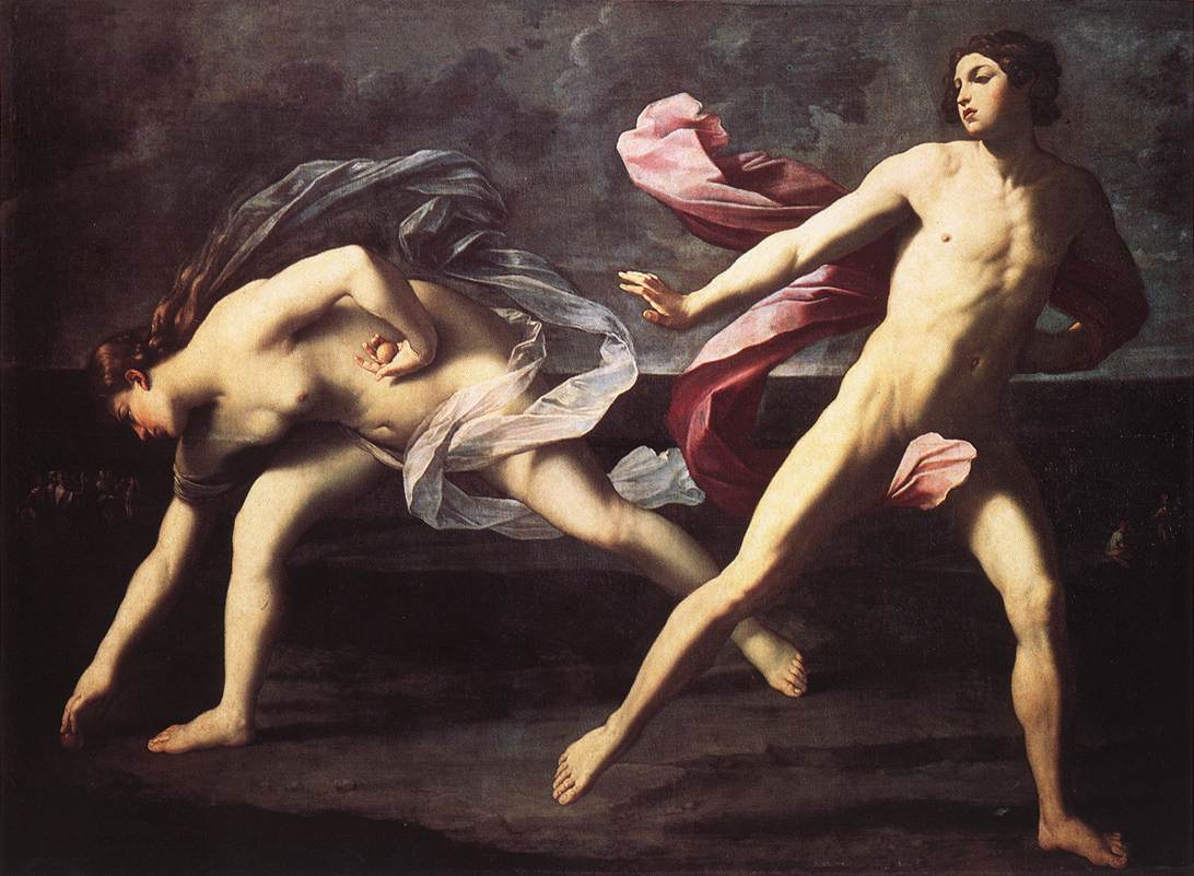 Atalanta and Hippomenes - Guido Reni