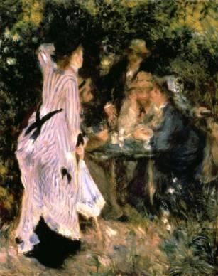 Au Jardin du Moulin - Pierre Auguste Renoir - Oil Print ...