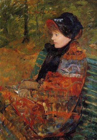 Autumn (Lydia Cassatt) - Mary Cassatt