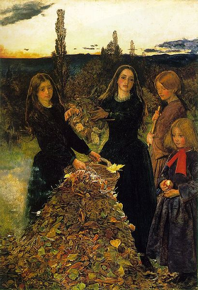 Autumn Leaves - John Everett Millais